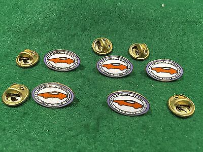 Lot Of 5 Vintage International Championship Auto Show Pins