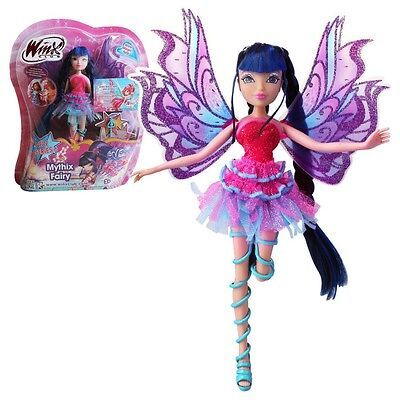 Winx Club - Mythix Fairy Puppe - Fee Musa mit Mythix Stab