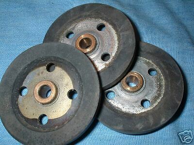 FERROGRAPH 4/5/6/7 ,IDLER WHEELS, TAPE RECORDER SPARES.... x 3.