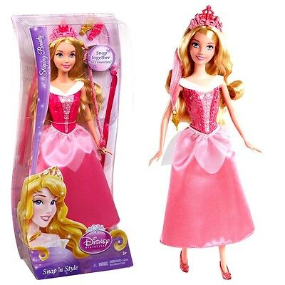 Disney Princess - Hair Style Doll Sleeping Beauty Snap 'N Style Mattel