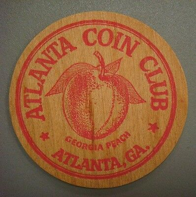 "Atlanta Coin Club, Atlanta, Ga. ""Two Wooden Nickels"" 10¢, 1929-1954"