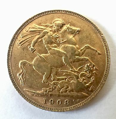 Great Britain Sovereign, 1908