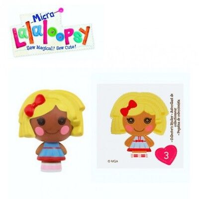 Lalaloopsy - Micro Welt - Surprise Pack Serie 2 - Puppe 3