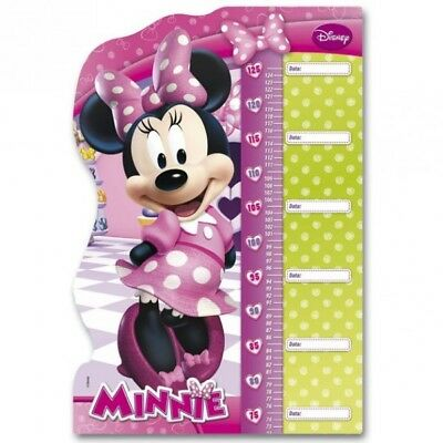 Minnie Maus - Puzzle Messlatte Mouse 62x42cm
