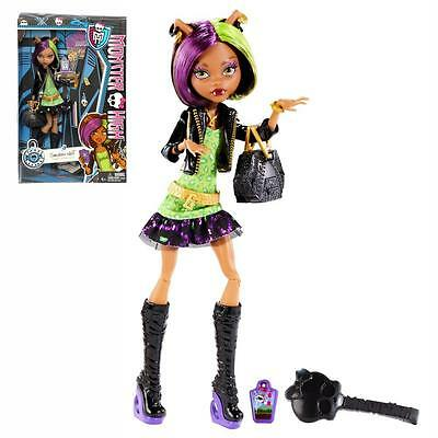 MONSTER HIGH Puppe - New Scaremester Clawdeen Wolf