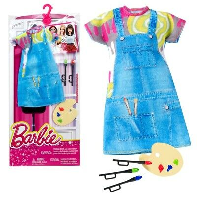 Barbie - Mode & Accessoires Set für Barbie Puppe - Kleidung Painter
