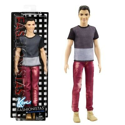 Barbie - Ken Puppe Fashionistas 6 - Blocked Cool
