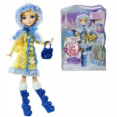 Ever After High Puppe - Ewiger Winter Blondie Lockes