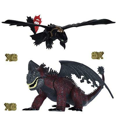 Dragons - Action Spiel Set - Battle Pack Ohnezahn Toothless und Red Death