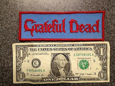 VINTAGE GRATEFUL DEAD PATCH EMBROIDERED RARE !! Free Shipping!!