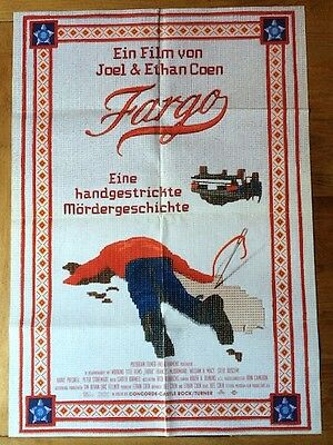 Fargo Original Poster Coen Brothers Cool Artwork