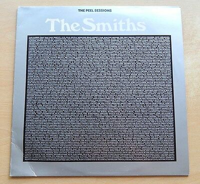 "The Smiths - The Peel Sessions - 12"" vinyl - 4 trks - 1988 - SFPS055 - Brown Llb"