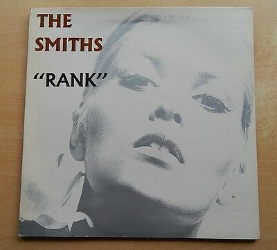 "The Smiths - Rank - 12"" LP - Live - Gatefold - 1988 - Rough 126"