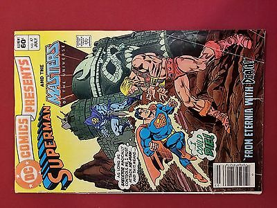 DC Comics Presents No 47 Superman and Masters of the Universe He-Man Skeletor