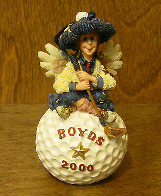 """Boyds Ornament(s) #25661 BIRDIE...FOUR! 4.5"""" resin NIB From Retail Store GOLF"""
