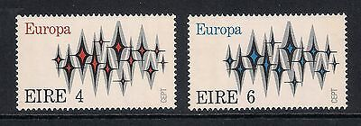 Ireland Eire stamps - 1972 Europa Cept Communications, SG313/314, MNH