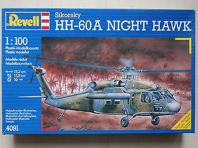Revell , Nr. 4091 , Sikorsky HH-60A NIGHT HAWK , 1:100 , SEHR SELTEN !!