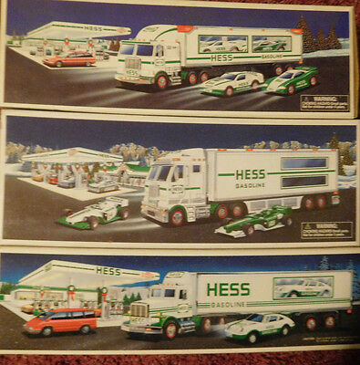Lot Of 14 Hess Toy Trucks, NIB