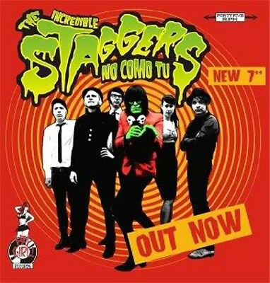 """7"""" THE STAGGERS – No Como tu LTD GARAGE PUNK Maharajas Spiders Strollers OPP"""
