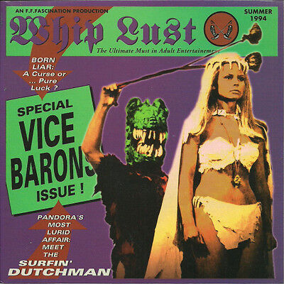"""7"""" THE VICE BARONS - Whip Lust EP Surf OOP Surf Organ Fuzz Psych"""