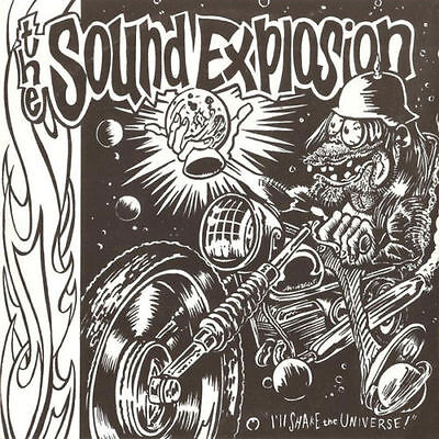 """7"""" THE SOUND EXPLOSION – I'll Shake The Universe! OOP GARAGE PSYCH PUNK"""