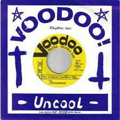 """7"""" The Monsters – Rock Around The Tombstone  Voodoo Rhythm – VR 701 Garage"""