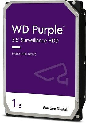 "Western Digital Purple Surveillance 1TB SATA III 3.5"" Hard Drive - 5400RPM, 64MB"