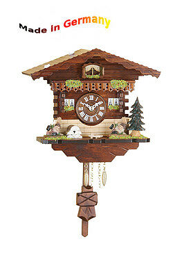 Black Forest Quartz Watch Kuckulino Pendulum Clock, Cuckoo,Made in Germany,