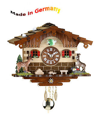 Great Kuckulino Pendulum Clock, Black Forest Cuckoo, Made in Germany, Gift Idea
