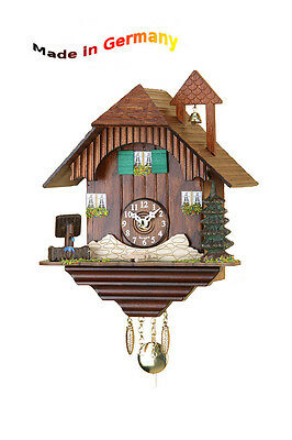 Black Forest Quartz Watch Kuckulino, Pendulum Clock Cuckoo, Made in Germany,