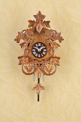 Gorgeous Pendulum Clock Kuckulino with Cuckoo Black Forest Clock 2030PQ