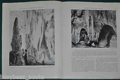 1924 magazine article, A VISIT TO CARLSBAD CAVERNS, New Mexico