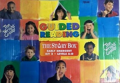 Wright Group The Story Box Guided Reading Kit 2 Early Emergent Levels A-D