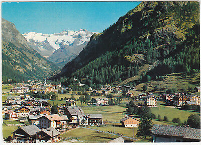 Gressoney St. Jean - Aosta - Panorama - Viagg. 1979 -5890-