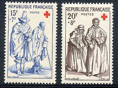 stamp / TIMBRE FRANCE NEUF N° 1140/1141 ** CROIX ROUGE COTE 11,50 €