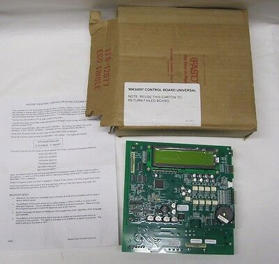 Universal Controller Board 96630097 For Typhoon, Inferno or Apex TSC Dishwashing