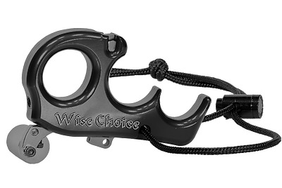 Wise Choice Carter Release 4 Finger Black