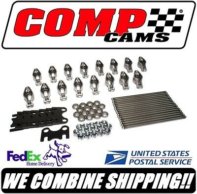 "Comp Cams 1.6 SBC Chevy 3/8"" Magnum Roller Rocker Arm & Pushrod Kit #RPG101"