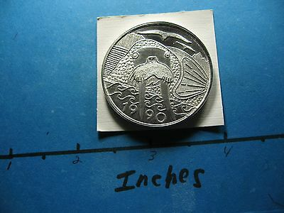 1990 Walrus Alaska Mint 999 Silver Coin Very Rare Type Item Not Many Around #4
