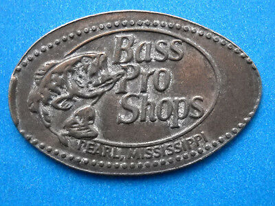 Bass Pro Shops elongated penny Pearl Mississippi USA cent souvenir coin