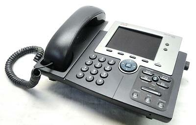 Cisco 7945 IP Phone | High-Fidelity Wideband Audio | Large Backlit Color Display