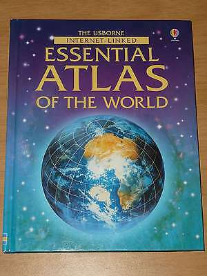 Very Good, The Usbourne Internet Linked Essential Atlas Of The World, , Book