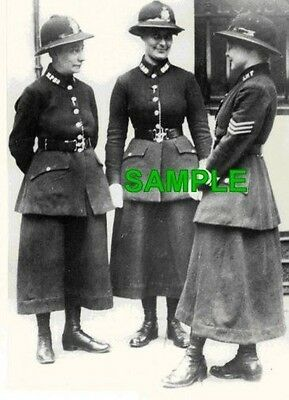 1919 LONDON FEMALE POLICE Photo