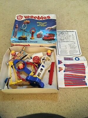 vintage airfix weebles daredevils circus boxed retro g1 toy 1978 mlp Fast Post
