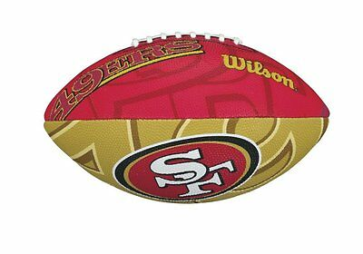 NFL Football SAN FRANCISCO 49ERS Junior Size Team Logo von Wilson - neu