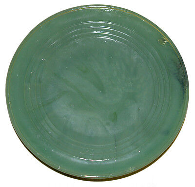 Alley Agate Chiquita Green Child's Dinner Plate