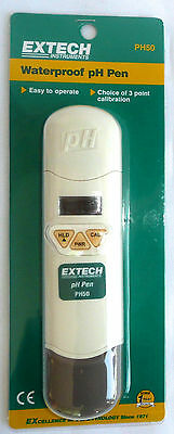 Extech Instruments Waterproof pH Pen PH50 >NEW<