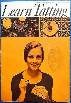Vintage - Learn Tatting - Book 1088 - Coats Sewing Group