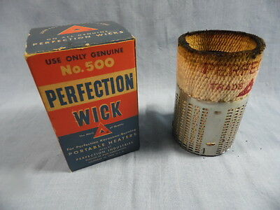Vintage Perfection Genuine Kerosene Wick #500 Nos Iob Red Triangle Box