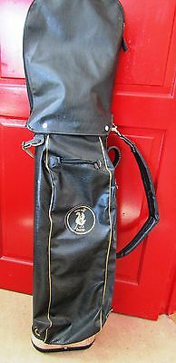 UNUSED 1950s John Letters  Vintage Golf Bag